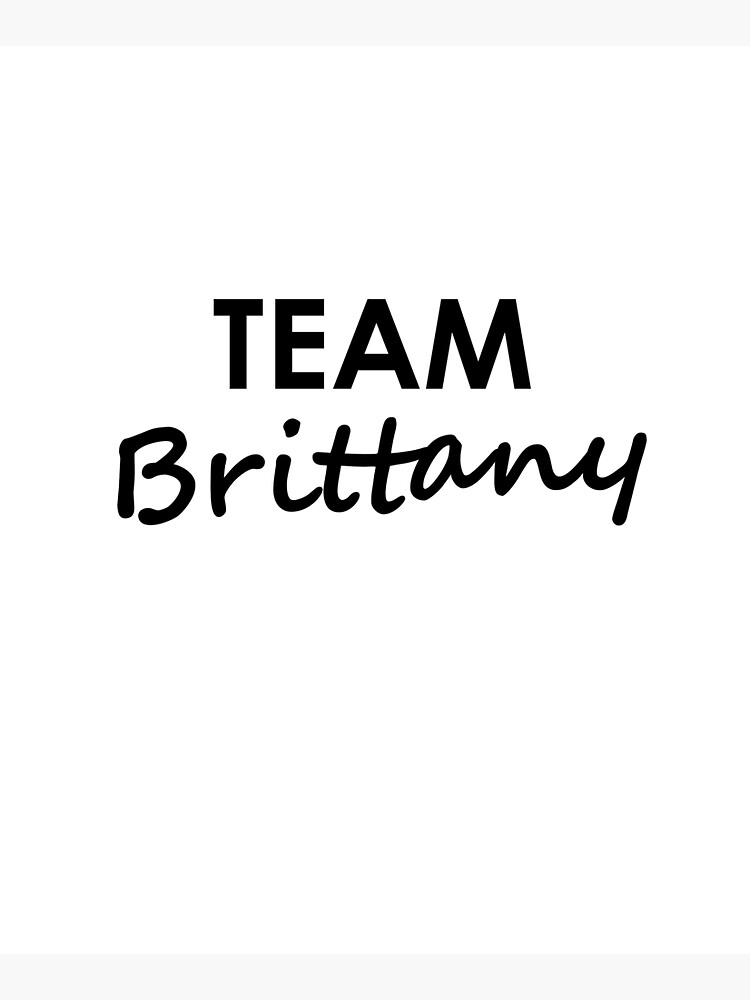 Team Brittany - Tote Bag by embourne