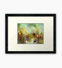 Pain in Birds Framed Print