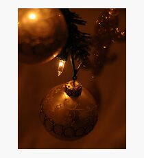 Christmas Scene Photographic Print