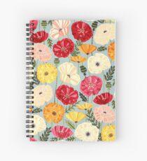 Iceland Poppies  Spiral Notebook
