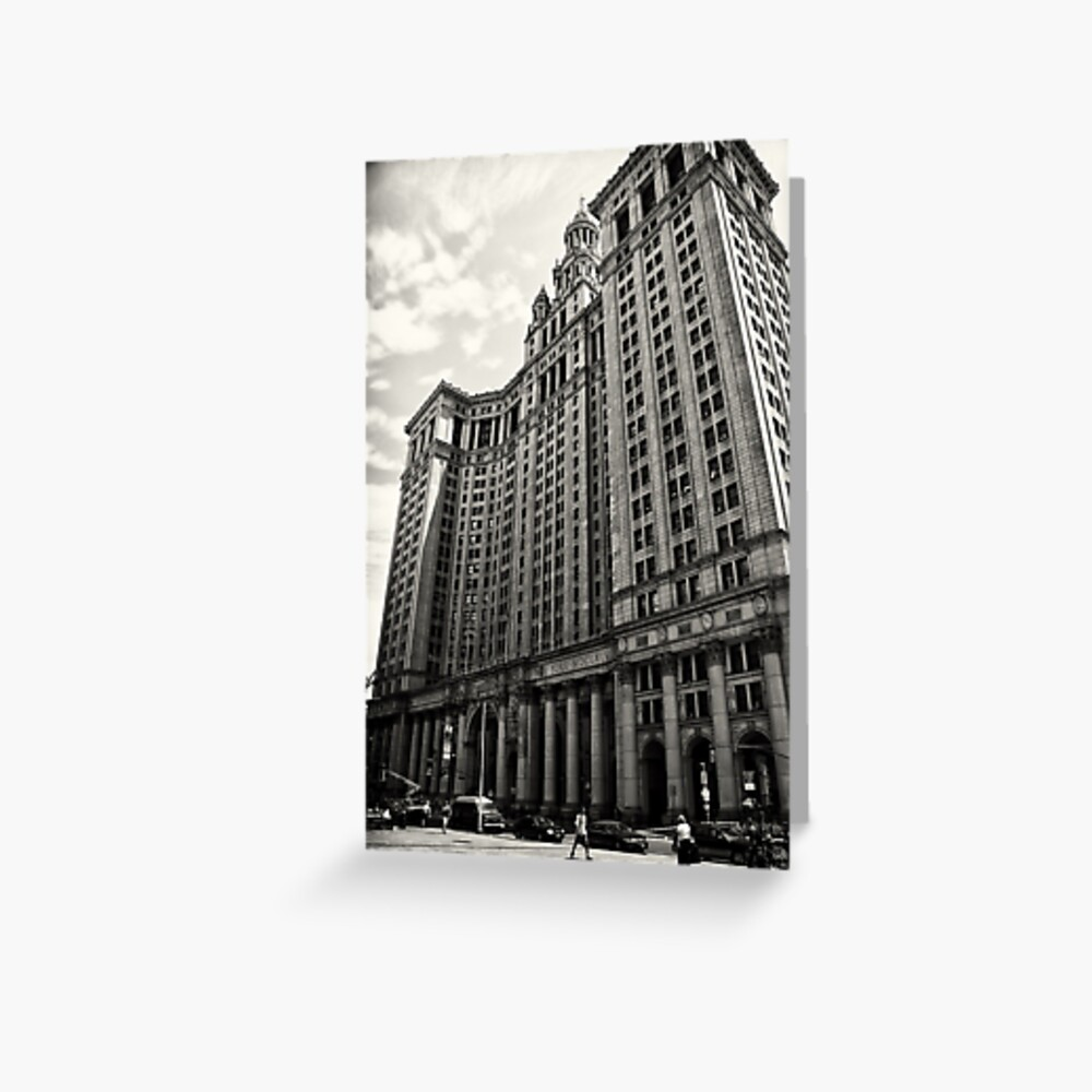 Grand Architecture - New York City Greeting Card