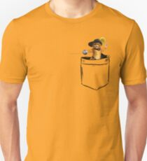 Puss in Pocket Unisex T-Shirt