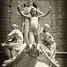 Columbus Circle Statue by Dilshara Hill