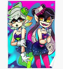 Splatoon: Callie and Marie Poster