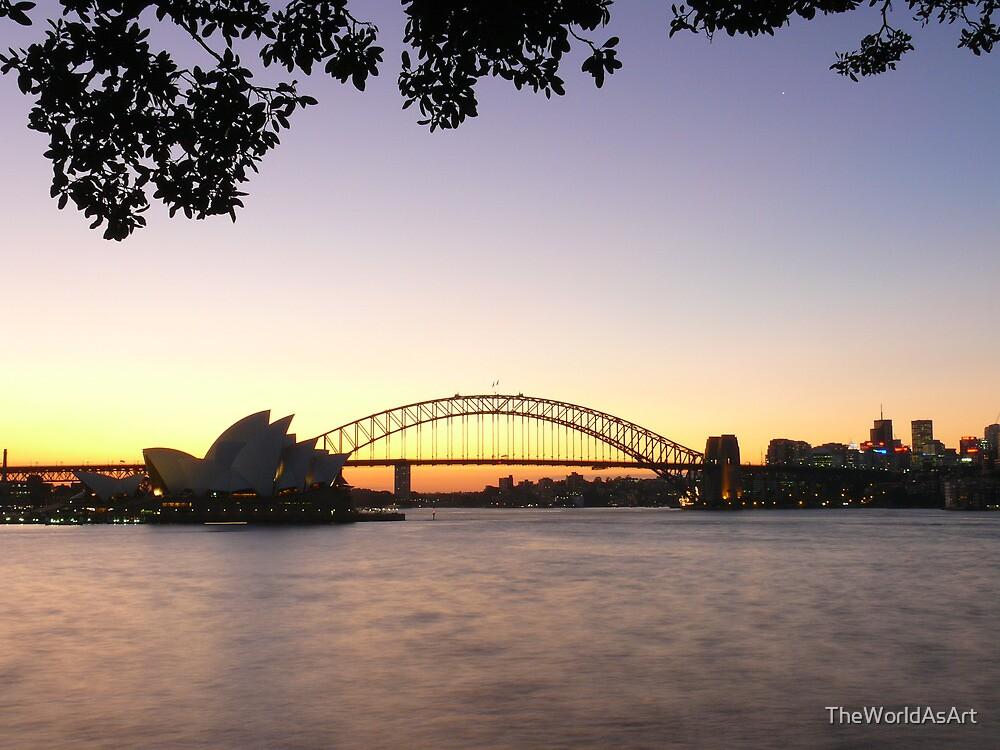 An Opera of Twilight / A Bridge To Night by TheWorldAsArt