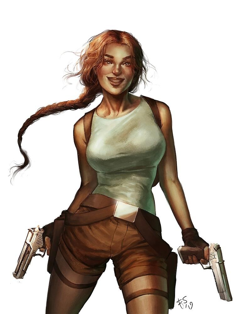 Old Raider by Elisa Serio