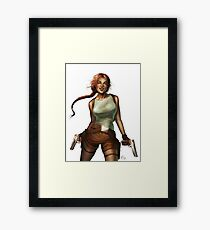 Old Raider Framed Print