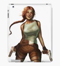 Old Raider iPad Case/Skin