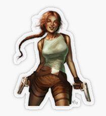 Old Raider Transparent Sticker