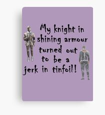 My Knight Canvas Print