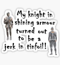 My Knight Sticker