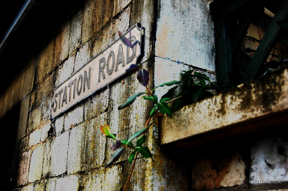 Delapidated - Ketton station by shutterclick
