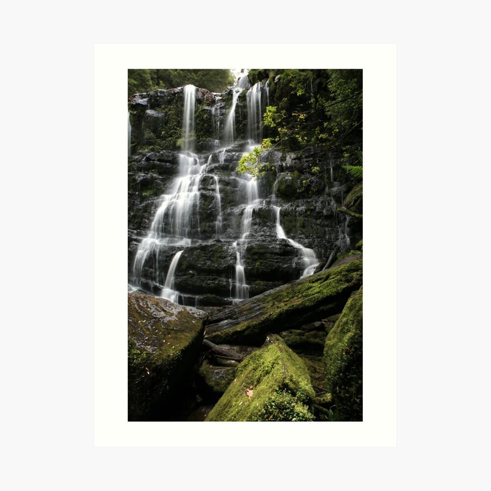 Nelson Falls, Tasmania, Australia Art Print