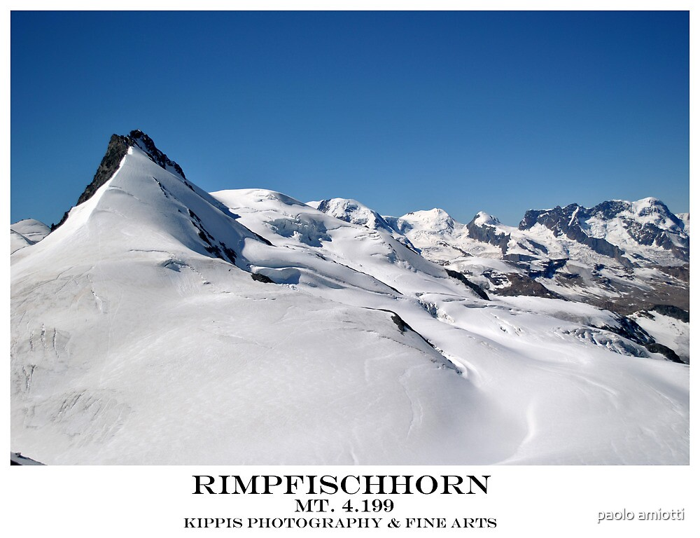 rimpfischhorn by paolo amiotti