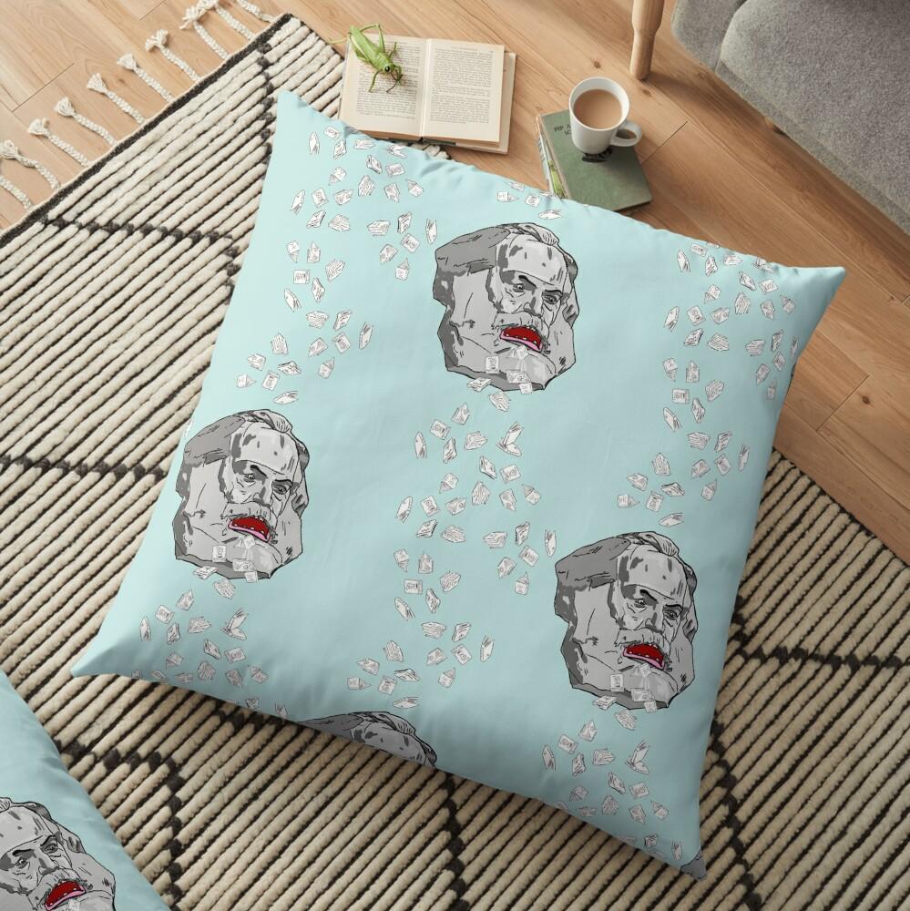 Zardoz strikes back Floor Pillow