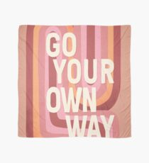 Go your own way Scarf