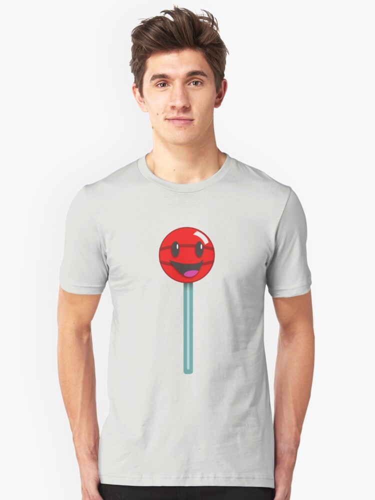 Lollipop Smile Unisex T-Shirt Front