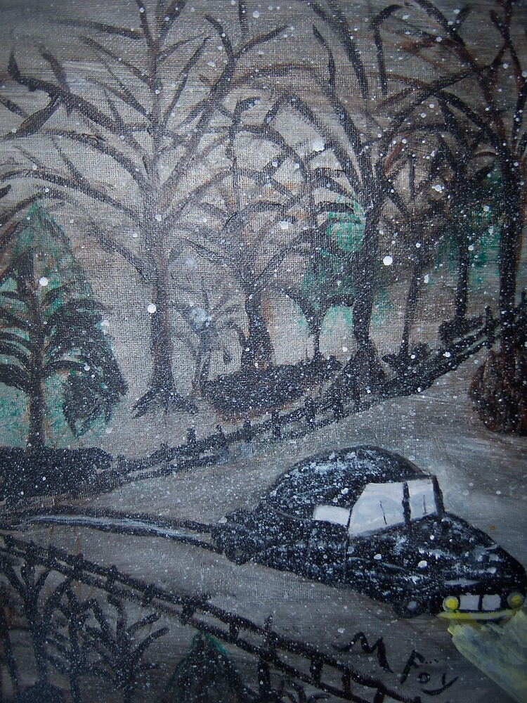 Winters Night by Marie Foy
