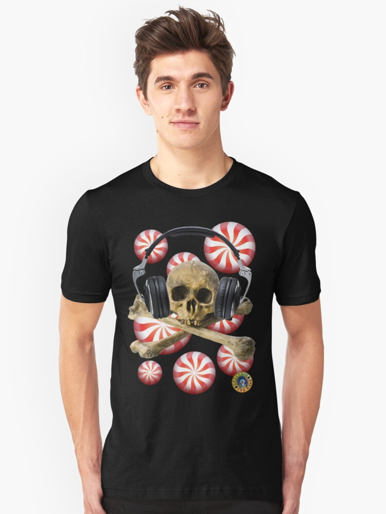 SKULL CANDY PEPPERMINT Unisex T-Shirt Front