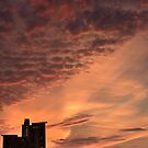 Sun-dusk, Charles River, Boston by LudaNayvelt