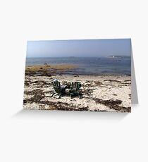 Time Out on a Beach Greeting Card