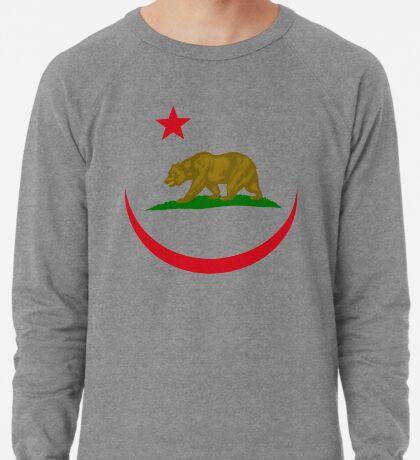 Californian Murican Patriot Flag Series 2.0 Lightweight Sweatshirt