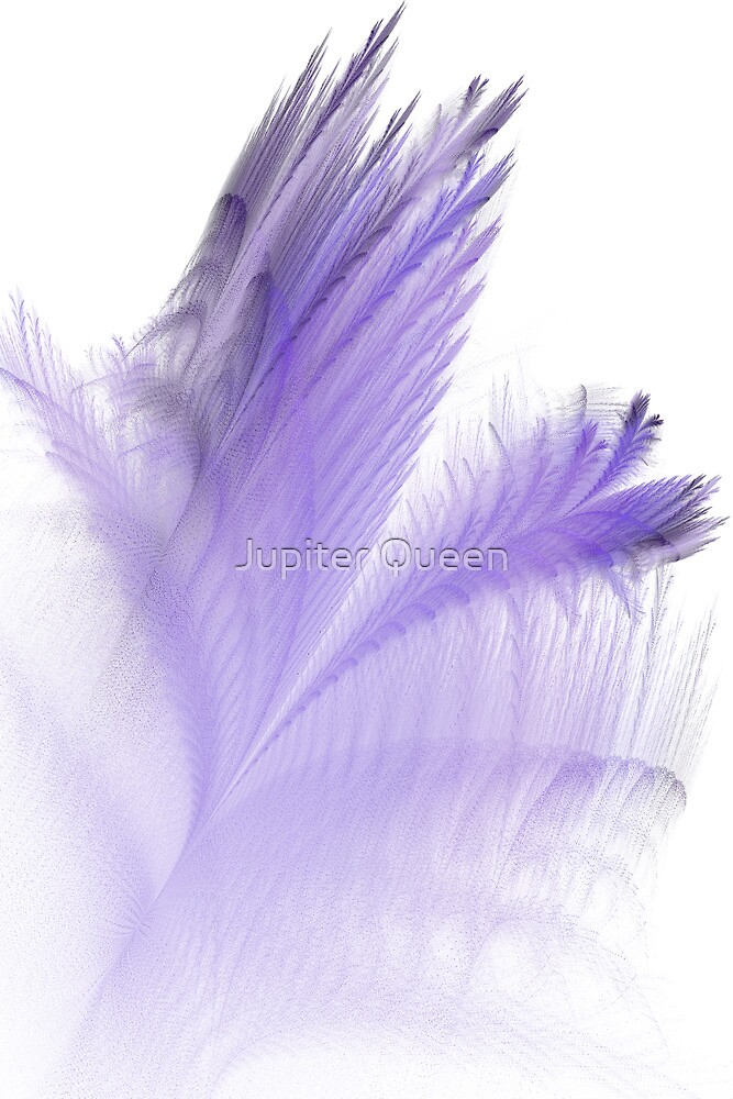 PURPLE FEATHERS # 2 by Jupiter Queen