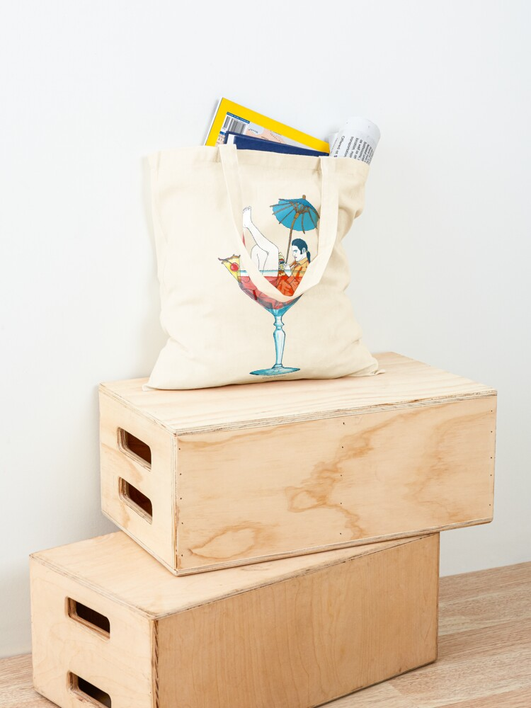 Alternate view of Time to Cool Off Tote Bag