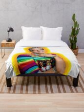 Jeff Goldblum of Happiness   Throw Blanket