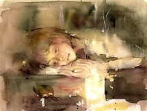 are you sleeping?.. 「KAZUMI」 by vasenoir