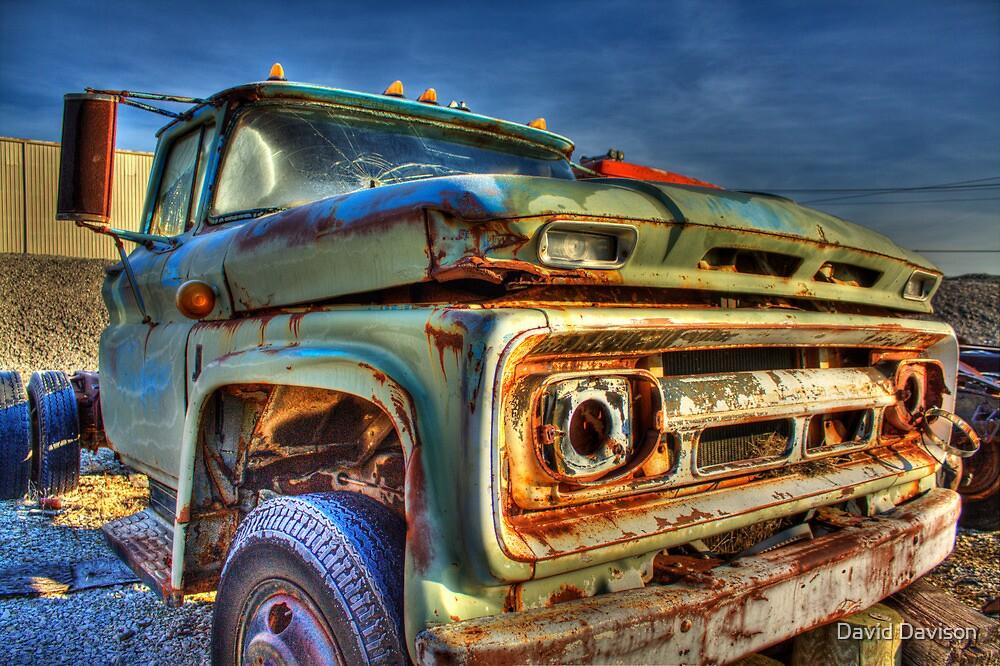 OldTruck3HDR by David Davison
