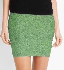 Crocovert Mini Skirt