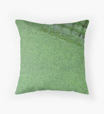 Crocovert Throw Pillow