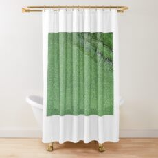 Crocovert Shower Curtain