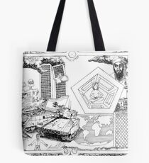 2002 Osama Bin Ladin and Controlled Demolitions on 9/11 Tote Bag