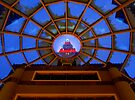 Tower City Skylight  by Marcia Rubin