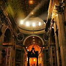 Light in Saint Peter's by Barbara  Brown