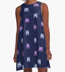 Clever Creature A-Line Dress