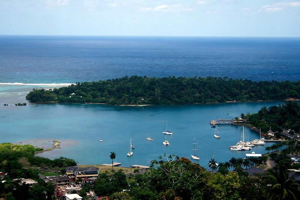 Port Antonio Harbour by PretaPortie