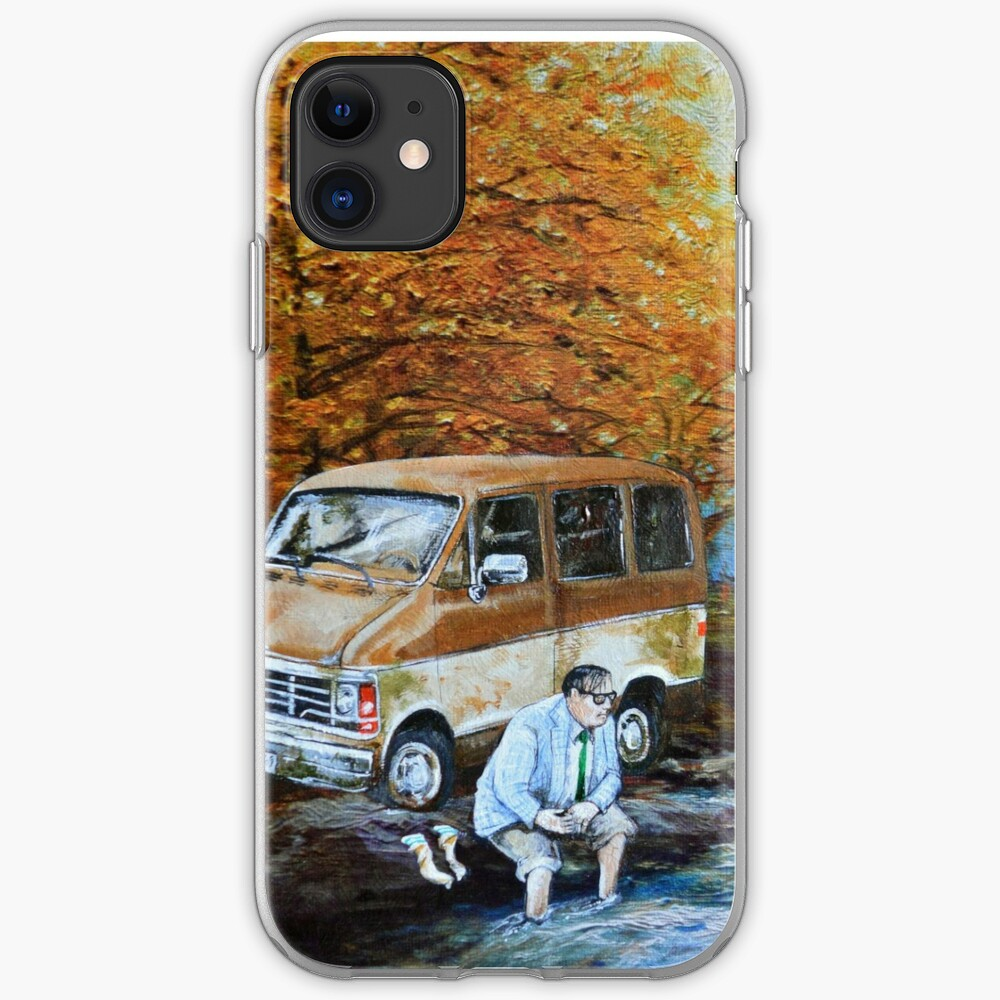 Living in a Van Down by the River iPhone Case & Cover