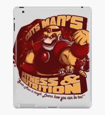 Guts Man's Fitness iPad Case/Skin