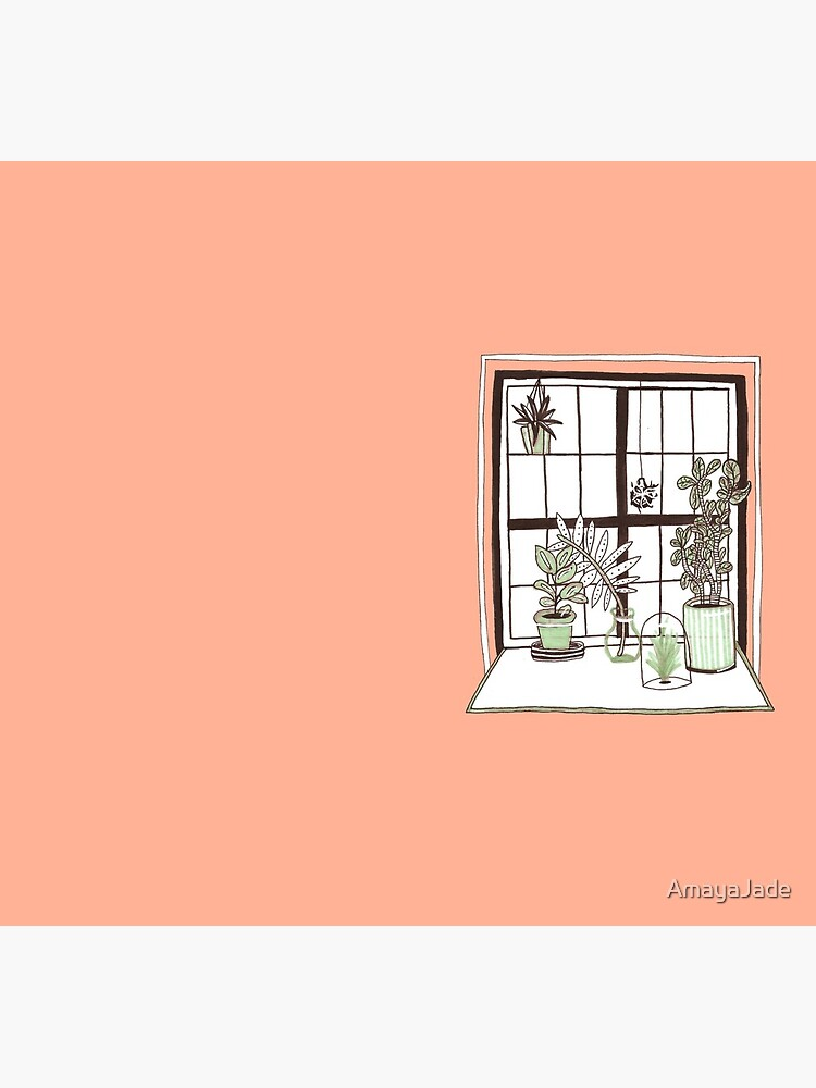 Plant Window by AmayaJade