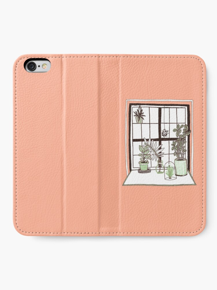 Alternate view of Plant Window iPhone Wallet