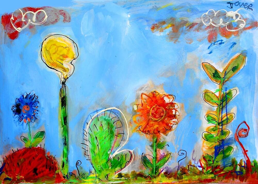 odd garden by Loui  Jover