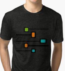 Mid-Century Modern Abstract Tri-blend T-Shirt