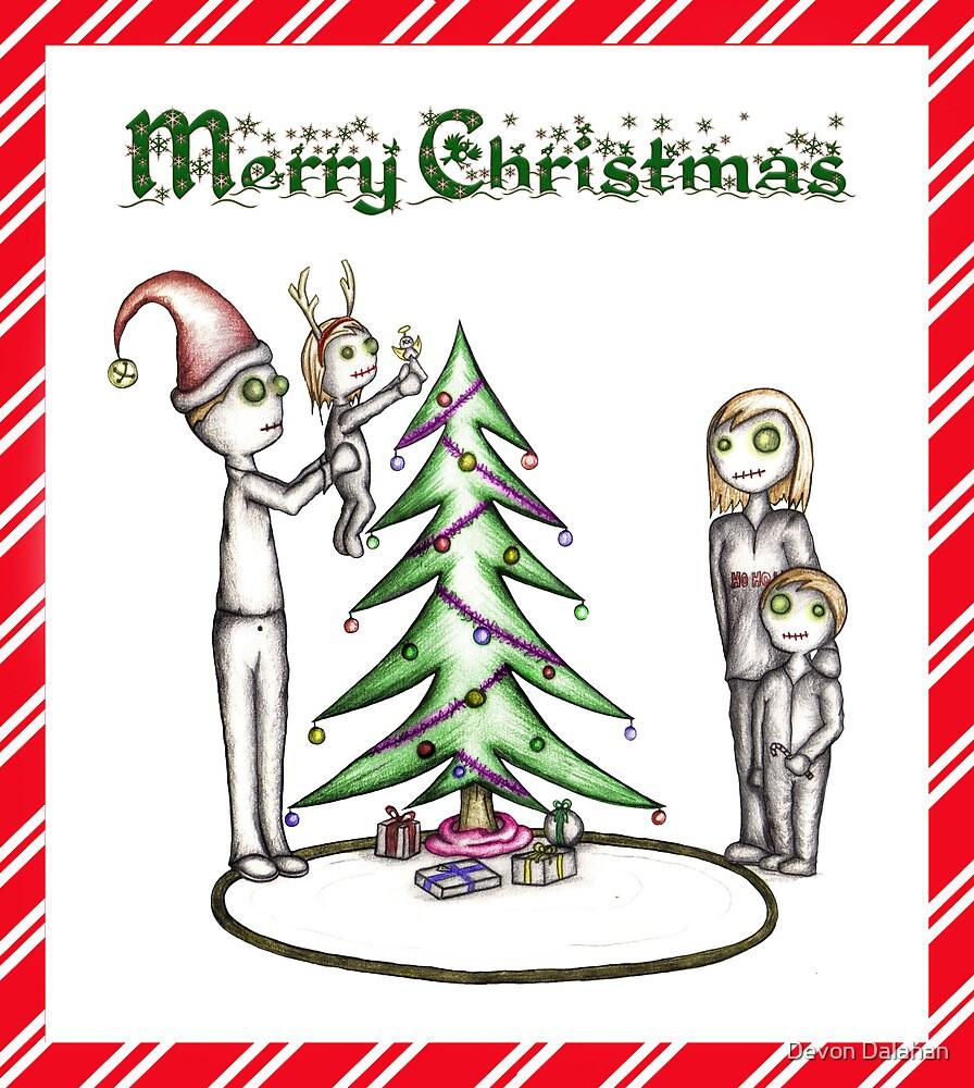 Zombie Christmas by Devon Mallison