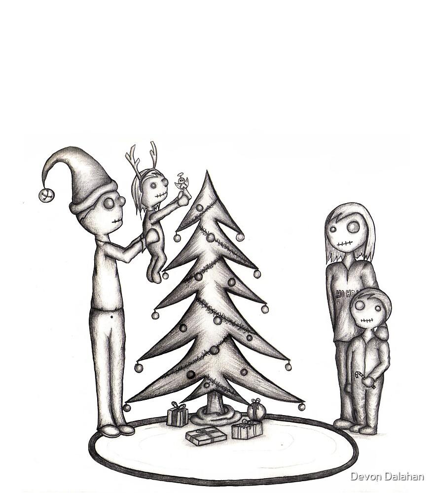 Zombie Christmas (raw) by Devon Mallison