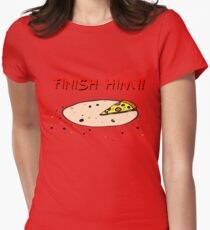 Finish Him! Women's Fitted T-Shirt