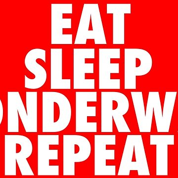 Eat Sleep Wonderwall Repeat by KVKVKV