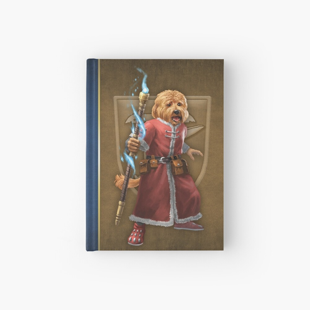 Pugmire: Pepper Labradoodle, Artisan Calling Hardcover Journal